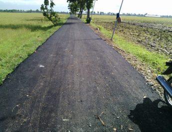 jalan aspal stobal